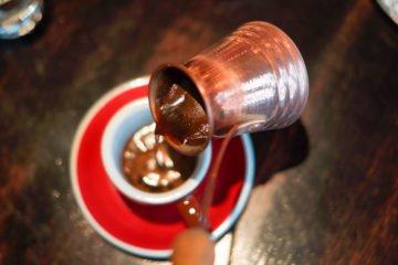 Nofar Restaurant Moskau - Kardamom-Kaffee