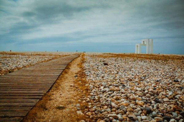 Strandabgang in Le Havre