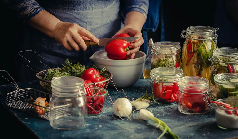 Viele Gemüse lassen sich einwecken