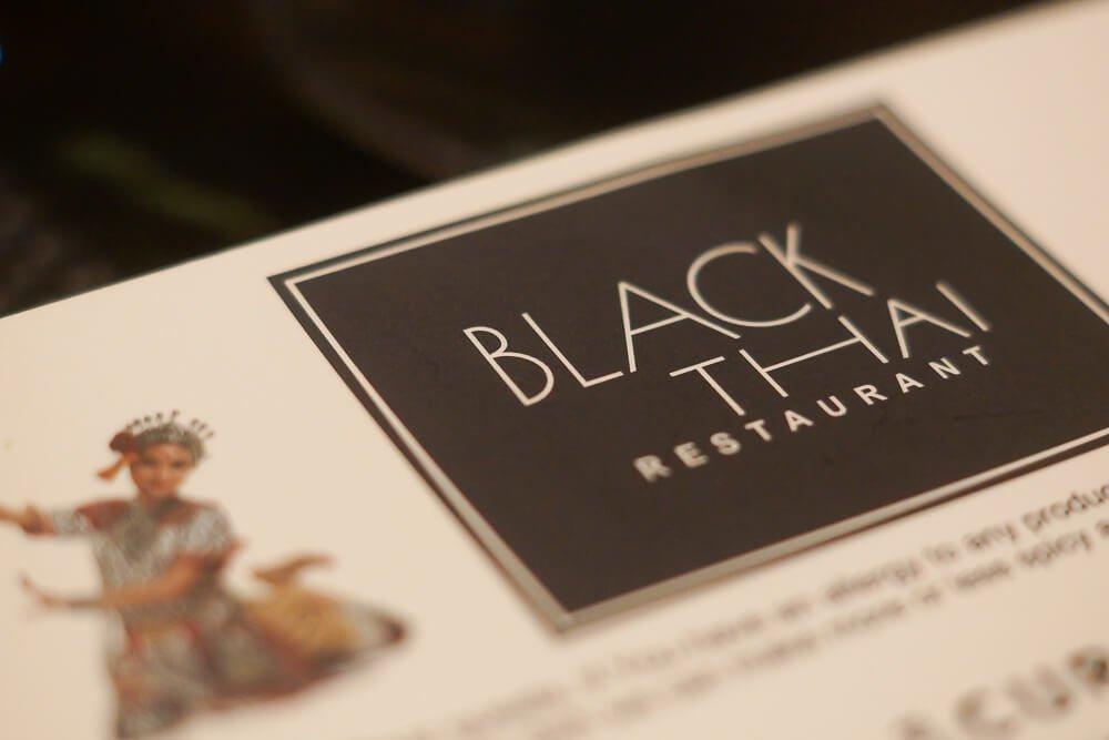 Black Thai Restaurant Moskau - Speisekarte