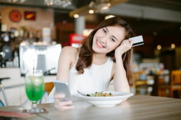Gutes Essen zaubert ein Lächeln