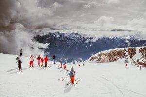 Ski fahren in Crans Montana