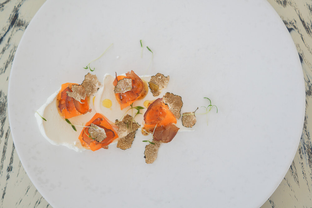 White Rabbit - Perssimon, Goat Cheese and Truffle