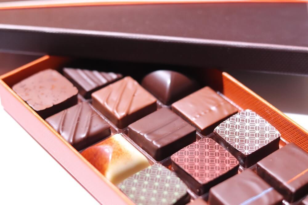 perfekte Pralinen vom Chocolatier