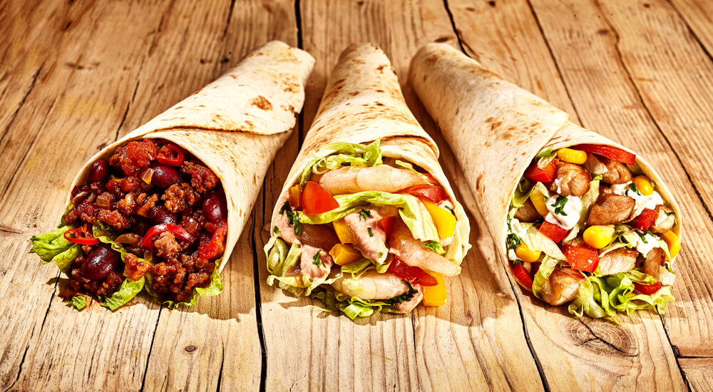 Burritos - lecker mexikanisches Streetfood