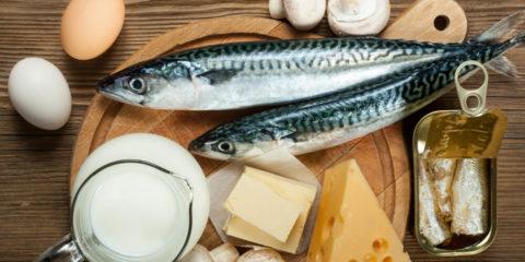 Lebensmittel reich an Vitamin D
