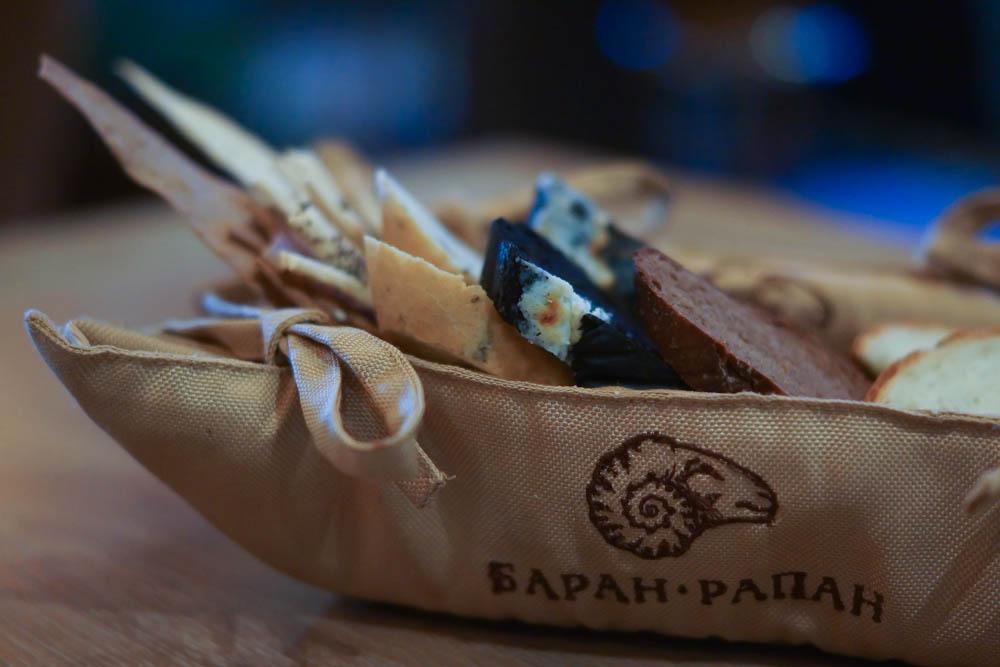 Baran Rappan Restaurant Sochi - Brotspezialitäten, selbst gemacht