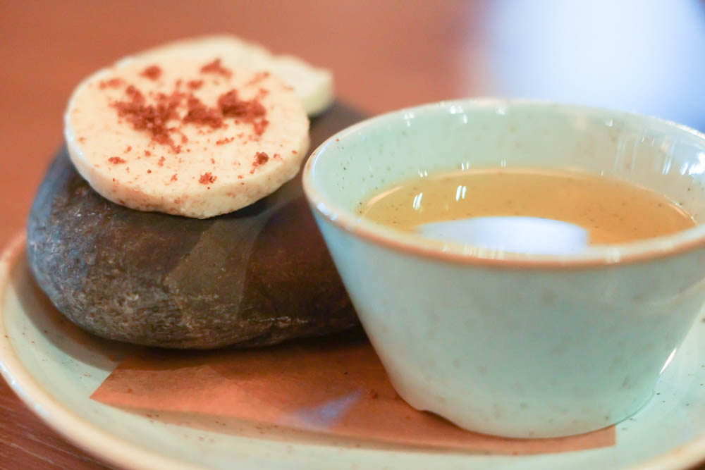 Baran Rappan Restaurant Sochi - Butter und Öl, alles lokal