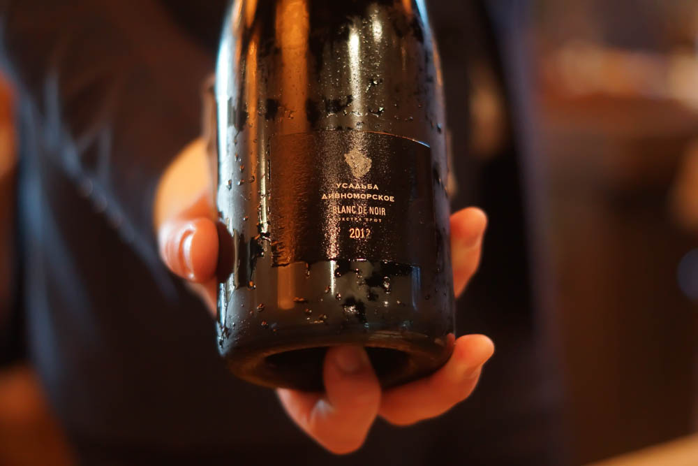 Baran Rappan Restaurant Sochi - Champagner zur Einstimmung