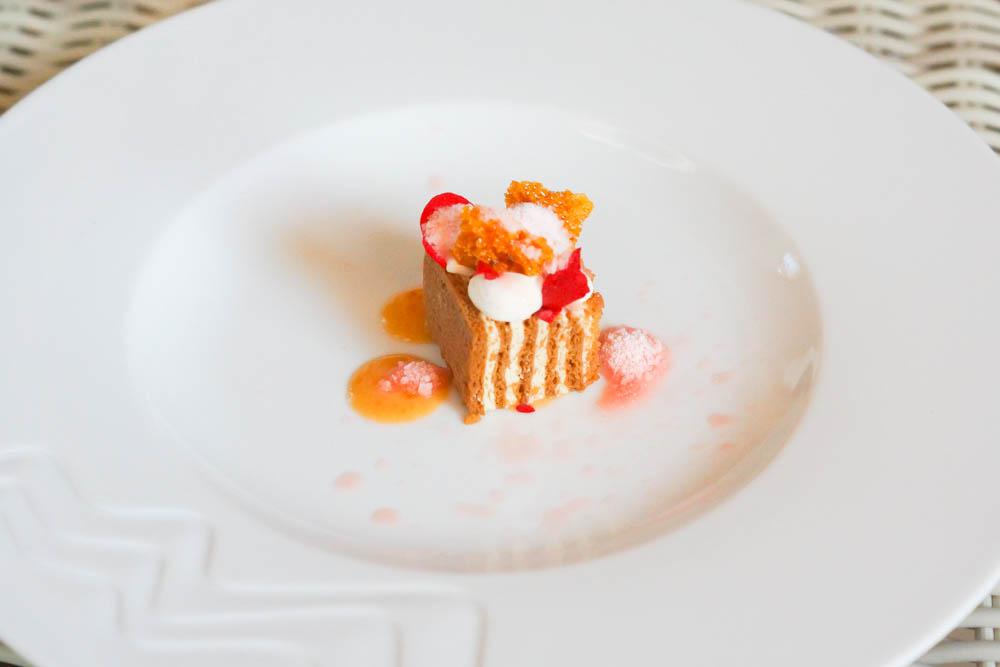 Baran Rappan Restaurant Sochi - Dessert Küchlein