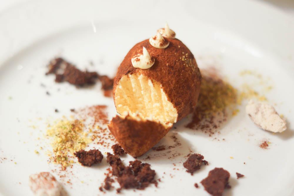 Grand-Café Dr. Zhivago - Anschnitt Kartoffelkuchen