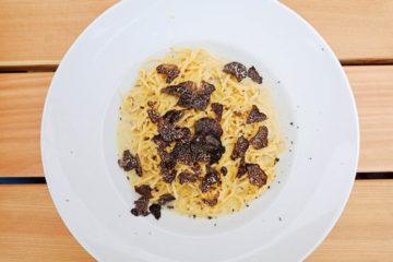 Motta Hütte Lenzerheide - Pasta mit Trüffeln