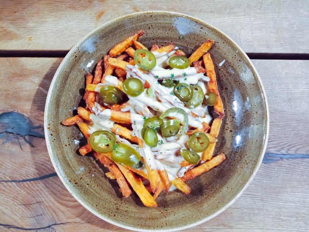 Revier Mountain Lodge Lenzerheide - Suesskartoffel Chips