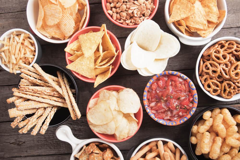 Snackfood für die Party