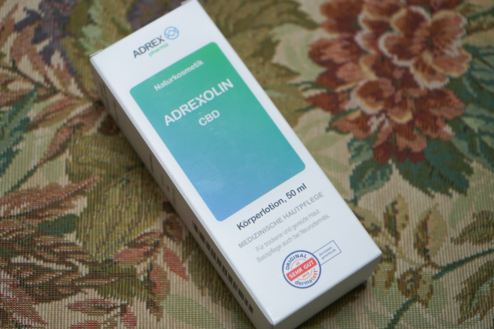 ADREX Adrexolin - CBD Körperlotion