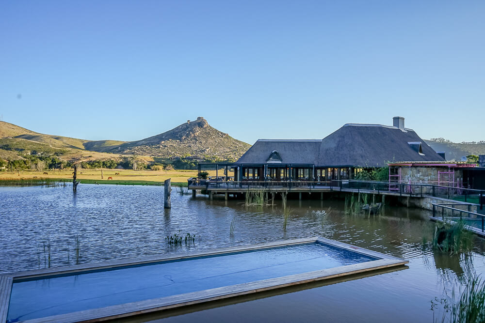 Botlierskop Game Reserve & Villas - Day Lodge, Pool, See