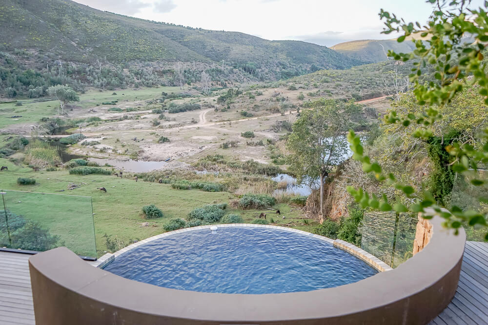 Botlierskop Game Reserve & Villas - Whirlpool 2