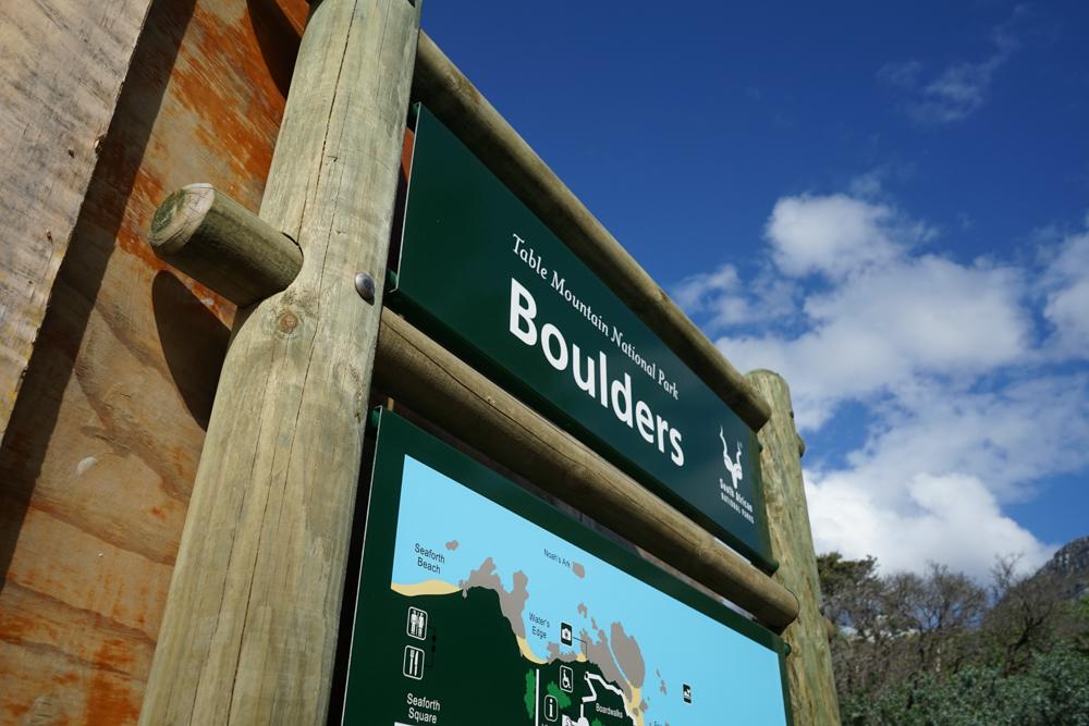 Boulders Beach Pinguine - Welcome