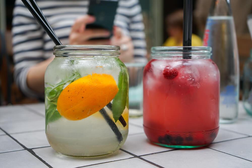 Chveni Restaurant Tiflis - Cocktails