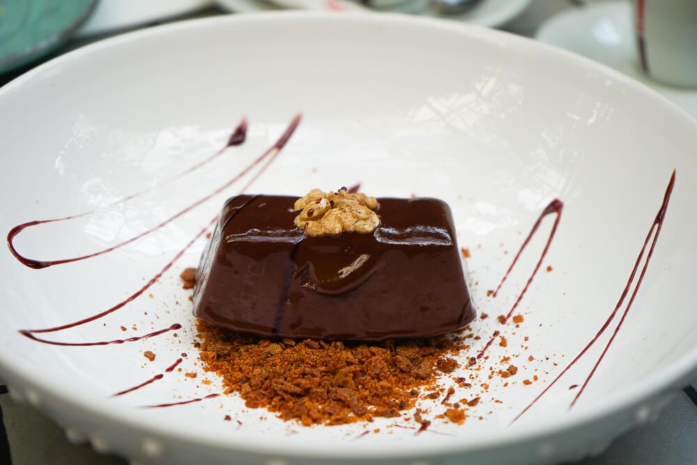 Chveni Restaurant Tiflis - Schkoladenkuchen