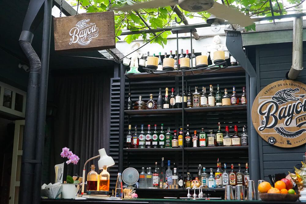 Chveni Restaurant Tiflis - tolle Bar