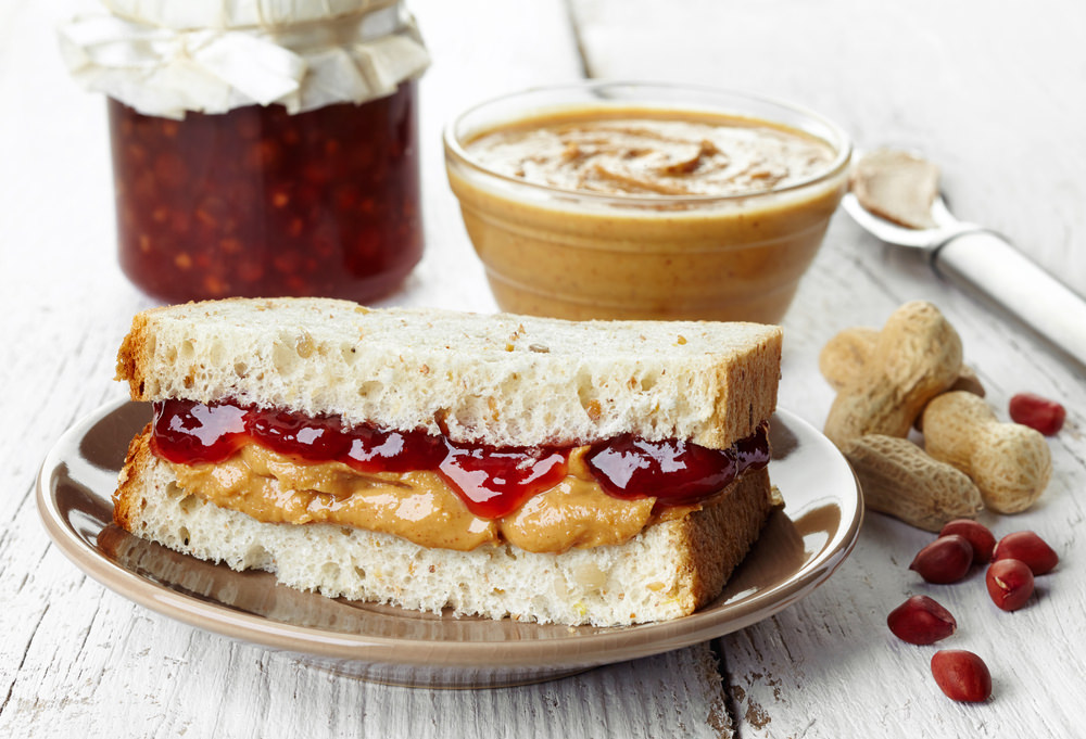 Erdnüsse - für feine Sandwiches