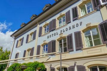 Hotel Florhof, Zürich - Ansicht vom Garten