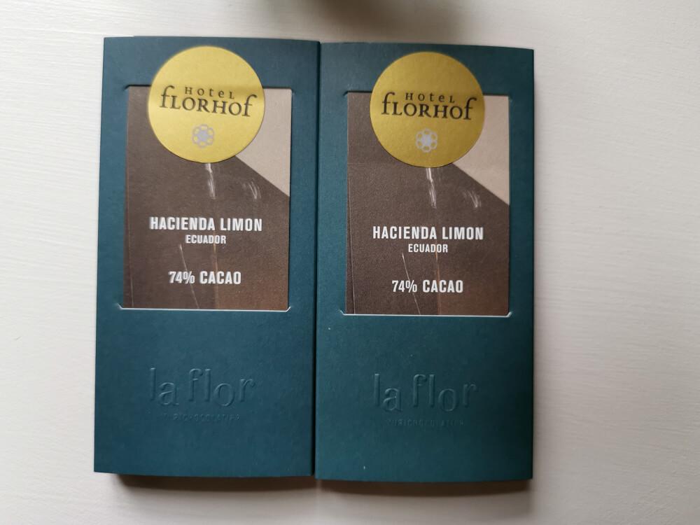 Hotel Florhof, Zürich - Schokolade zum ankommen