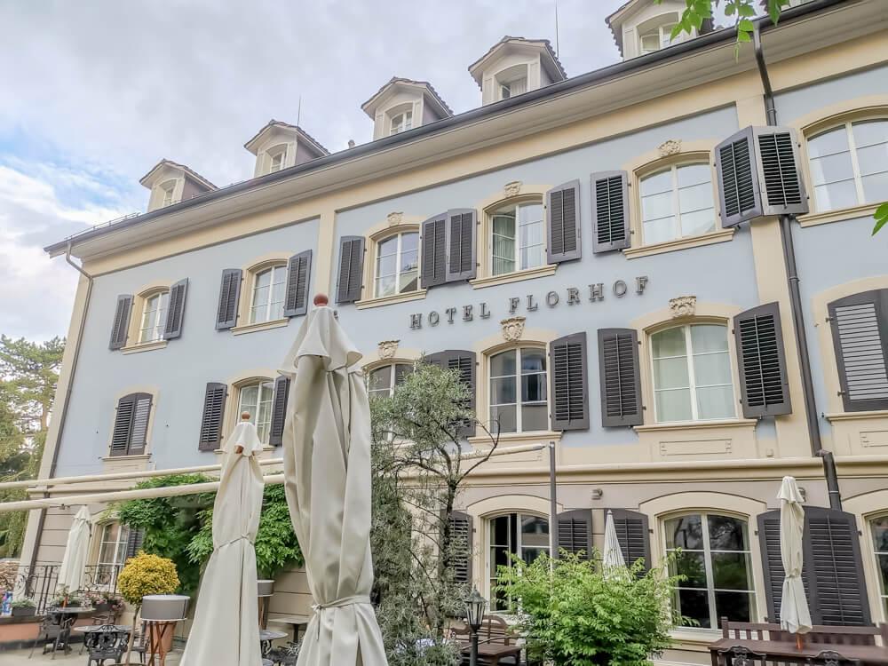 Hotel Florhof, Zürich - bei bestem Wetter