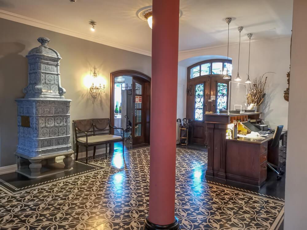 Hotel Florhof, Zürich - großartige traditionelle Lobby