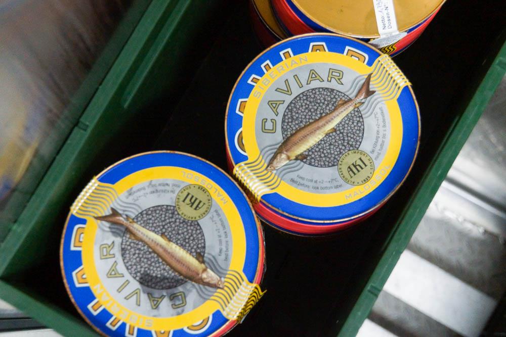 Kaviarbestand der MS Europa 2