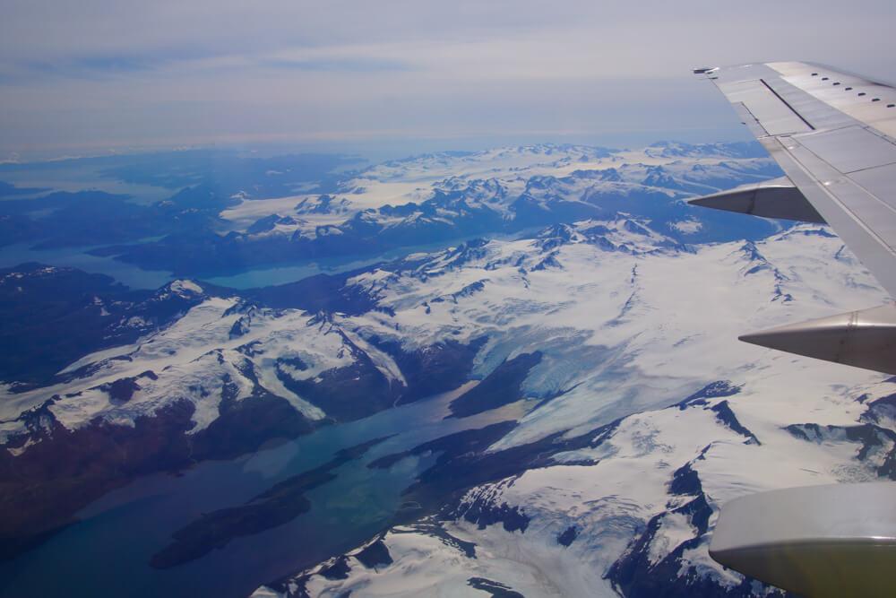 Kodiak, Alaska USA - Gletscher und Berge