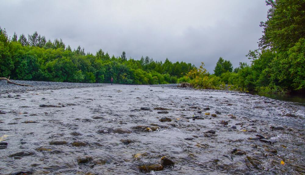 Kodiak, Alaska USA - Natur und Flüsse