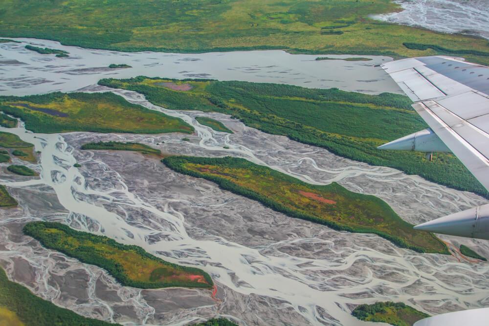Kodiak, Alaska USA - grandiose Landschaften von oben