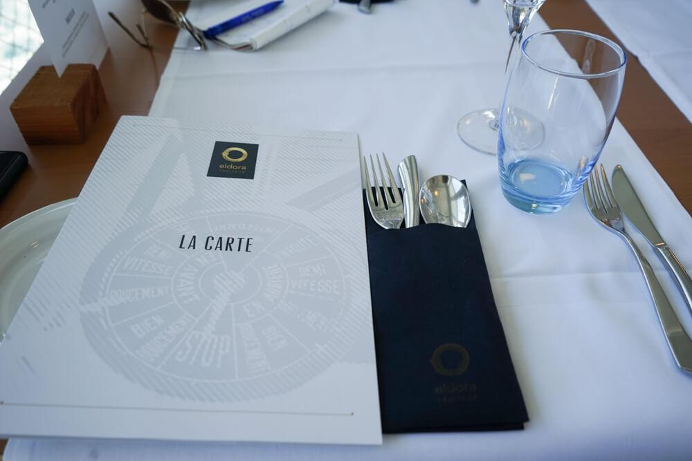 La Suisse Genfersee - Lunchmenü