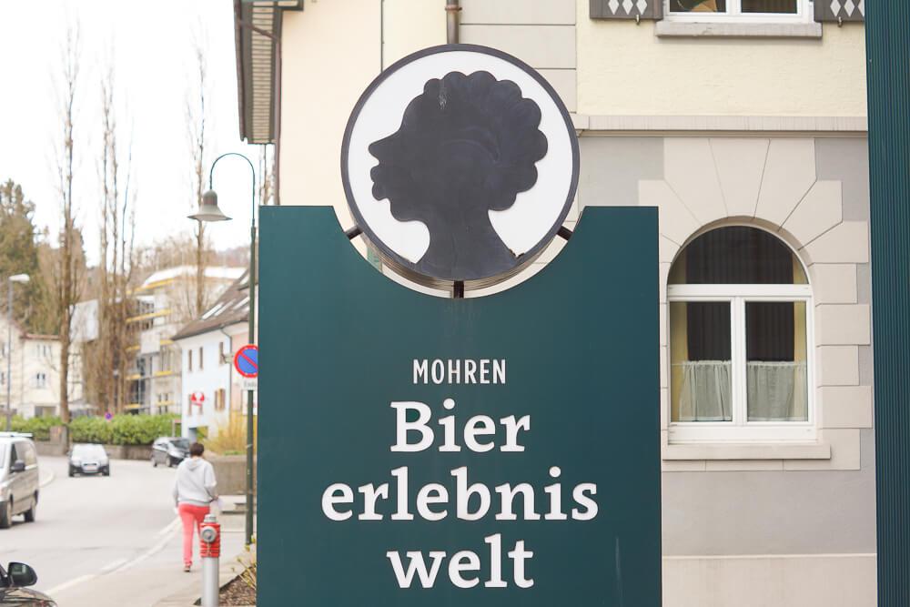 Mohren Biererlebniswelt, Dornbirn - Eingang