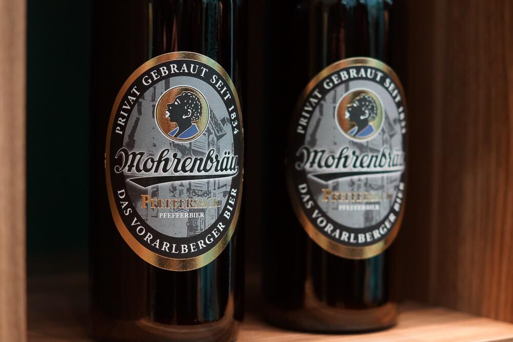 Mohren Biererlebniswelt, Dornbirn - Mohrenbräu Pfeffersack