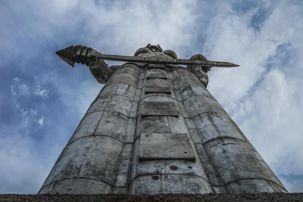 Mutter Georgiens - Mother of Georgia - massive Statue