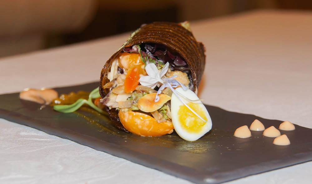 Pierneef à La Motte Restaurant - Cape Cuisine Salat 1