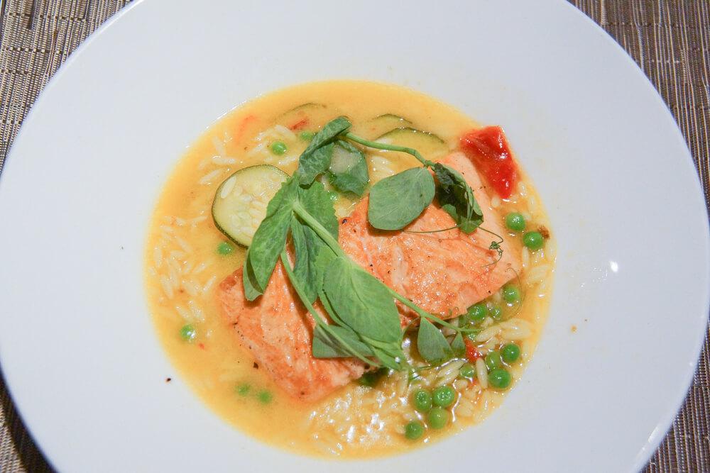 SALT Restaurant, Juneau - feinster konfierter Lachs