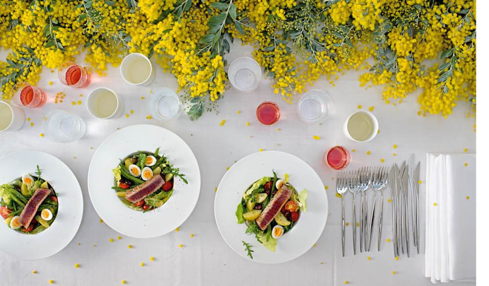 Salade niçoise mit Thunfisch-Steaks (c) Antonina Gern Photography