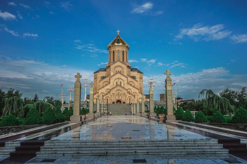 Sameba Kathedrale Tiflis 1