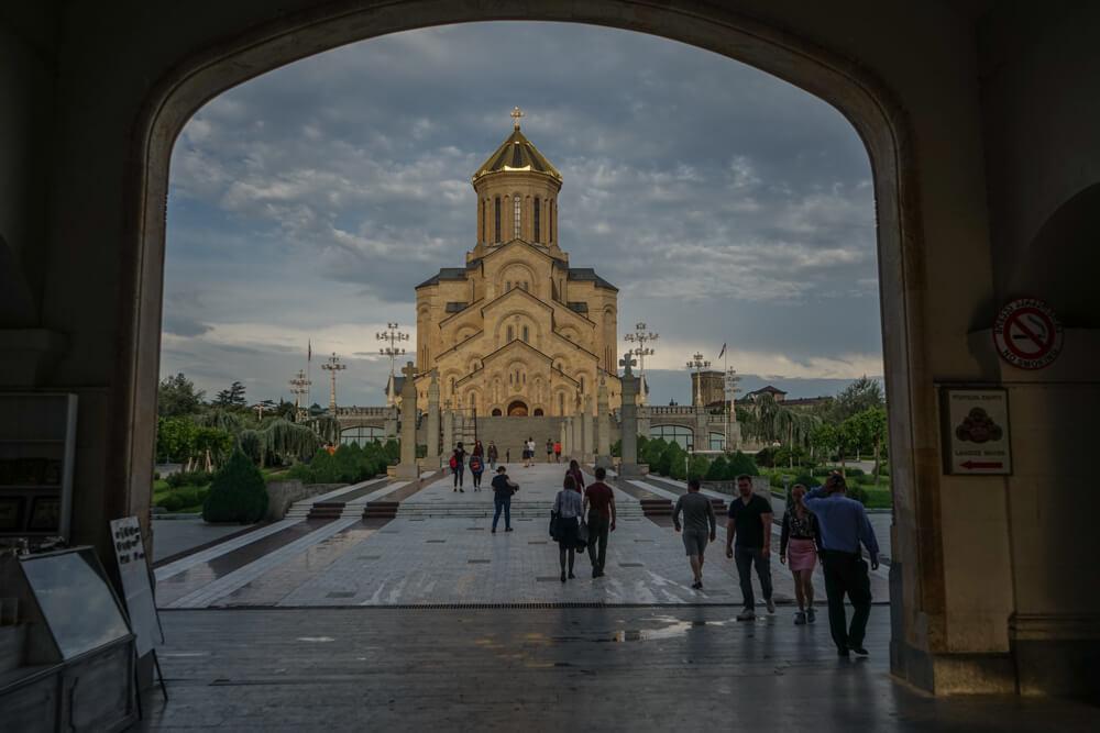 Sameba Kathedrale Tiflis 14