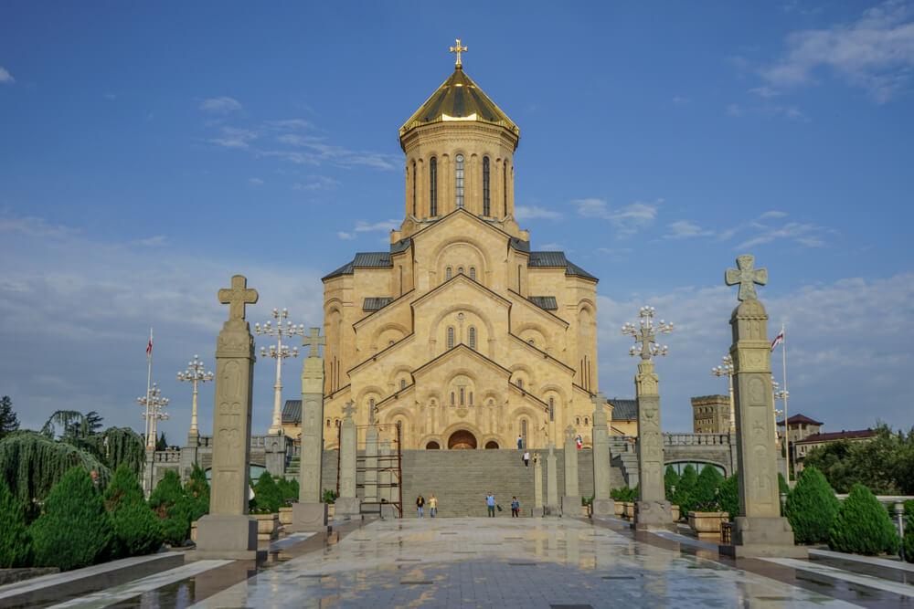 Sameba Kathedrale Tiflis 2