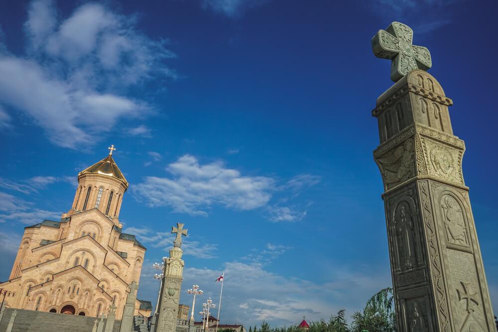 Sameba Kathedrale Tiflis 3