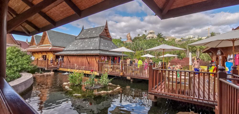 Siam Park, Teneriffa - Shops und Restaurants