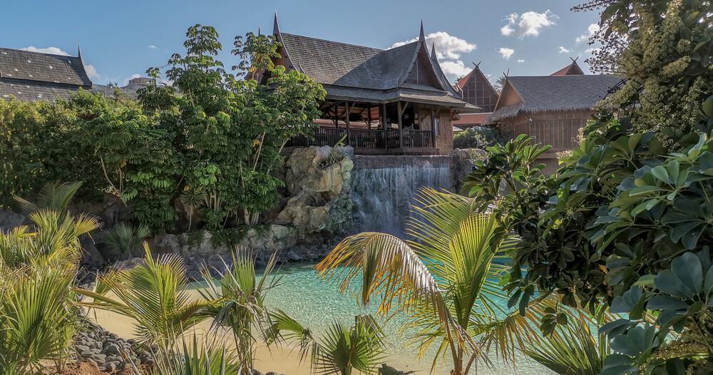 Siam Park, Teneriffa - tolle Landschaften