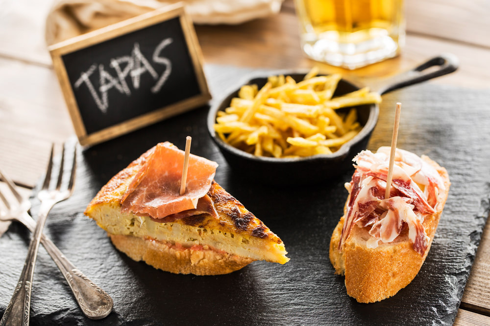 Tapas - Spanische Köstlichkeiten