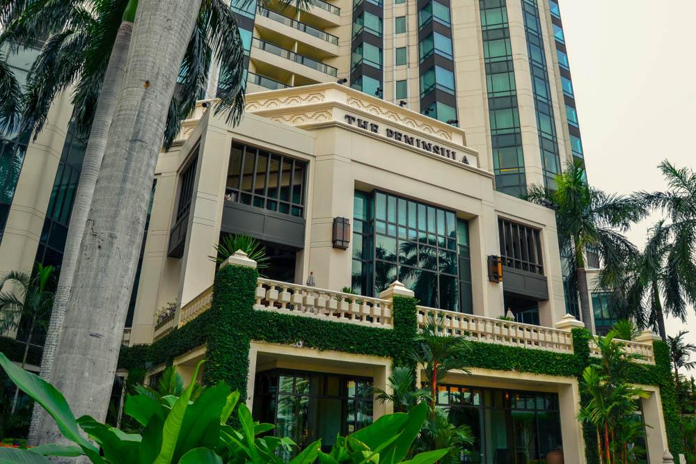 The Peninsula Bangkok - Außenansicht