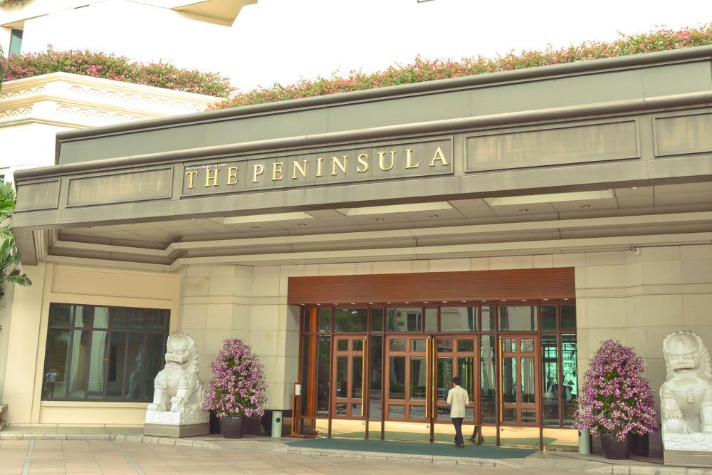 The Peninsula Bangkok - Eingang